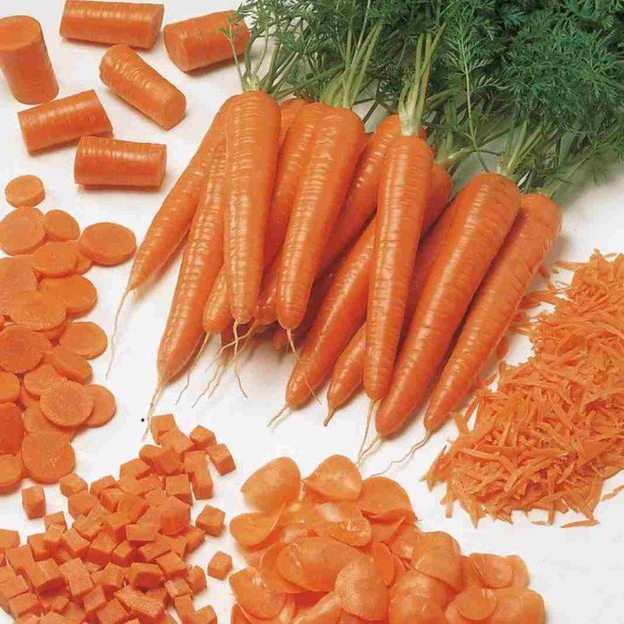 Một số món ăn từ cà rốt