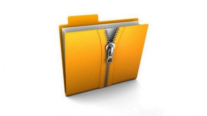 cách giải nén file zip