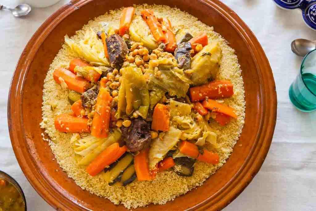 món ăn maroc