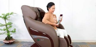 ghế massage cho người cao tuổi