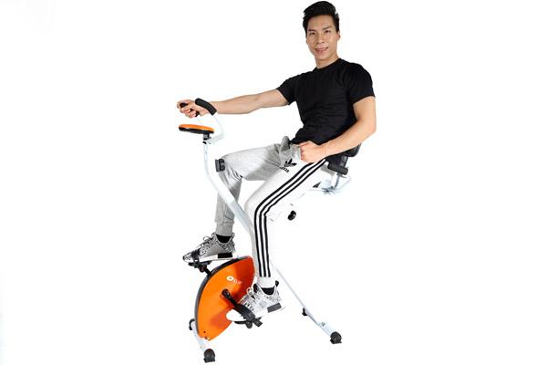 Xe đạp tập ELIP Mona có tựa lưng dành cho người lớn tuổi