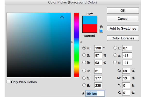 Hộp điều chỉnh màu sắc