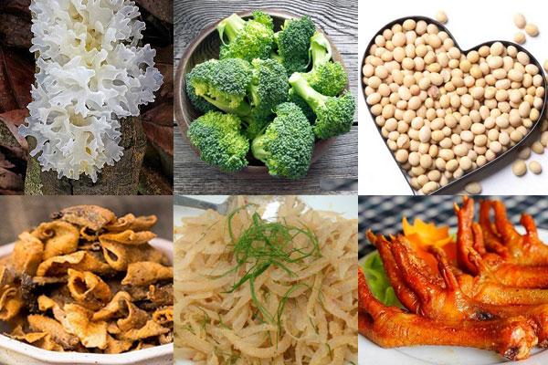 Ăn gì để bổ sung collagen