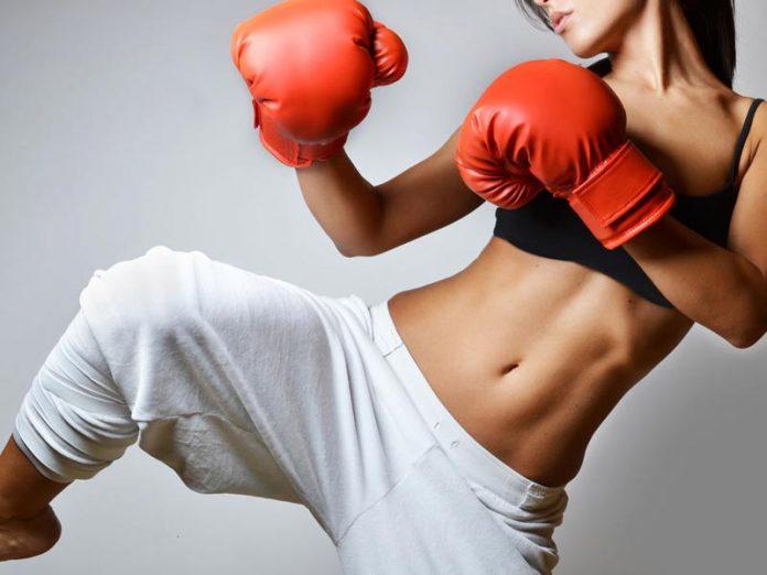 tập boxing giảm mỡ bụng