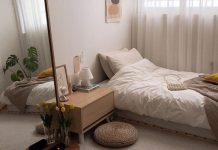 cách bố trí phòng ngủ nhỏ