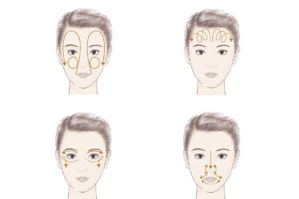 Massage căng da mặt