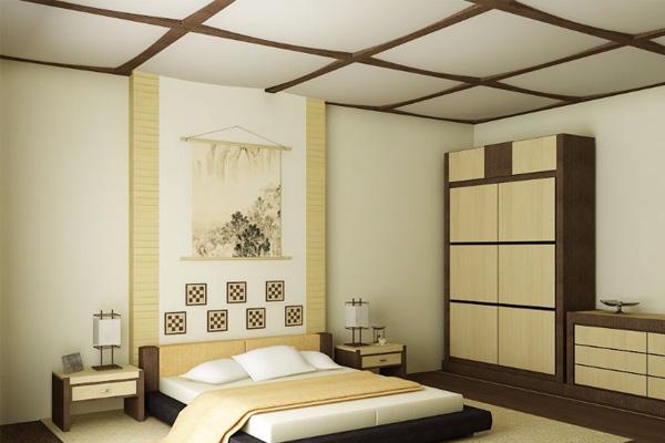 thiết kế phòng ngủ nhỏ kiểu Nhật