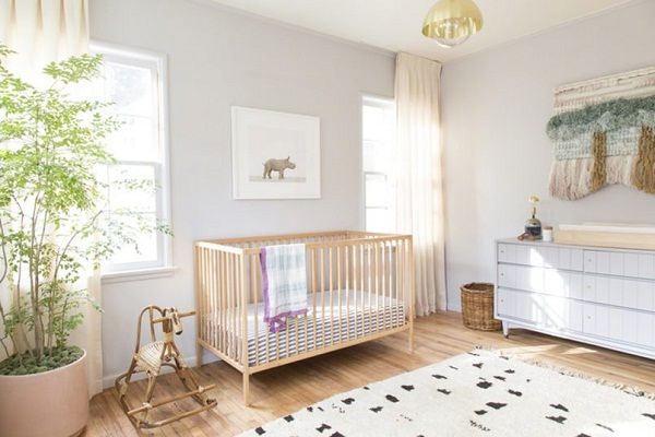 trang trí phòng cho trẻ sơ sinh