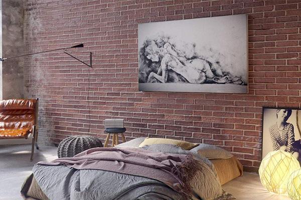 trang trí phòng ngủ chất